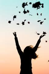 Hands Raised Petals Strewn